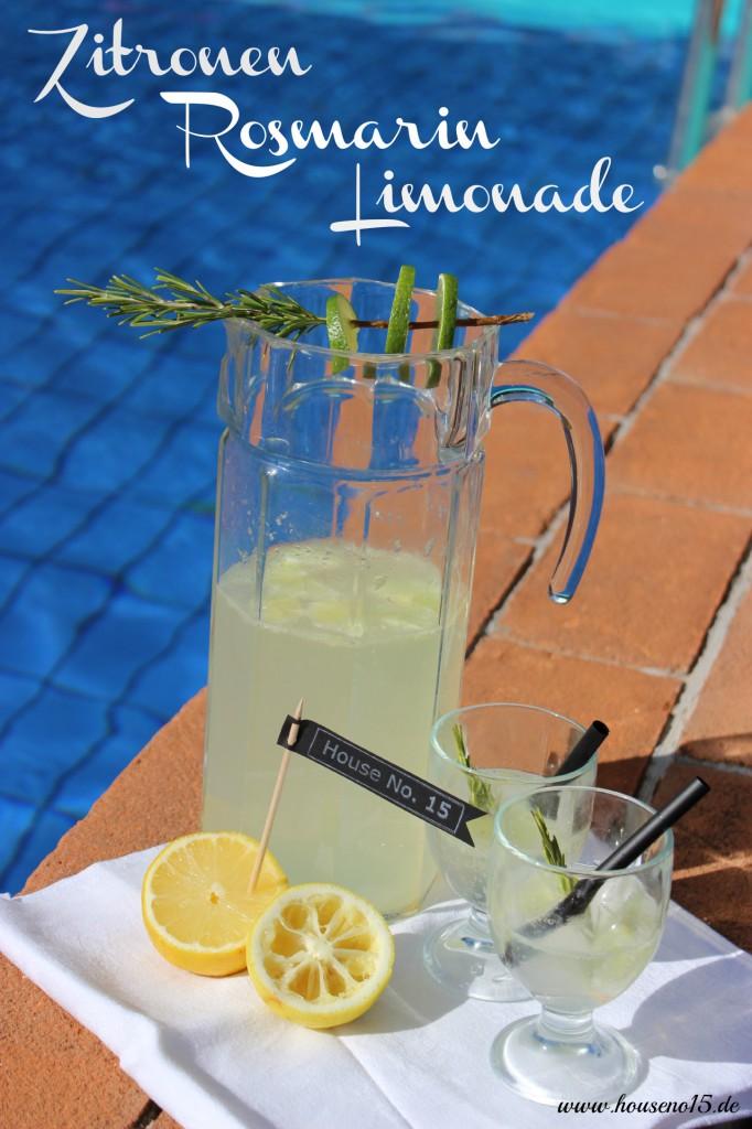 Zitronen-Rosmarin-Limonade