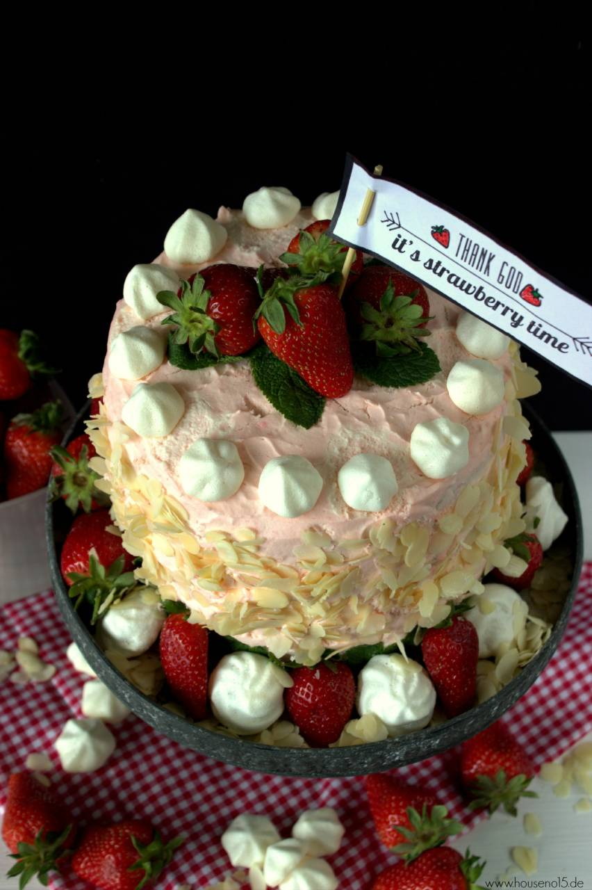 Ombre Strawberry cake2