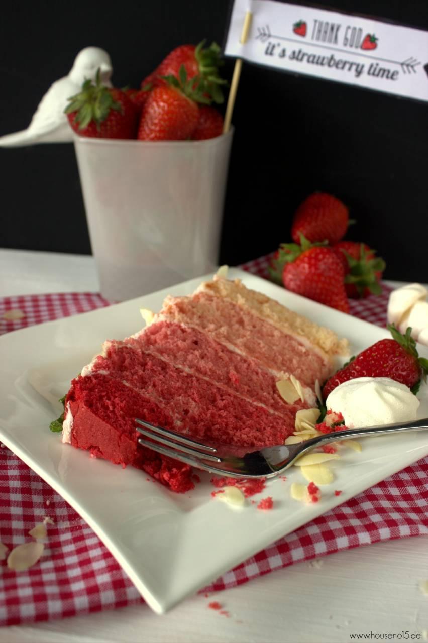 Ombre Strawberry ckae4