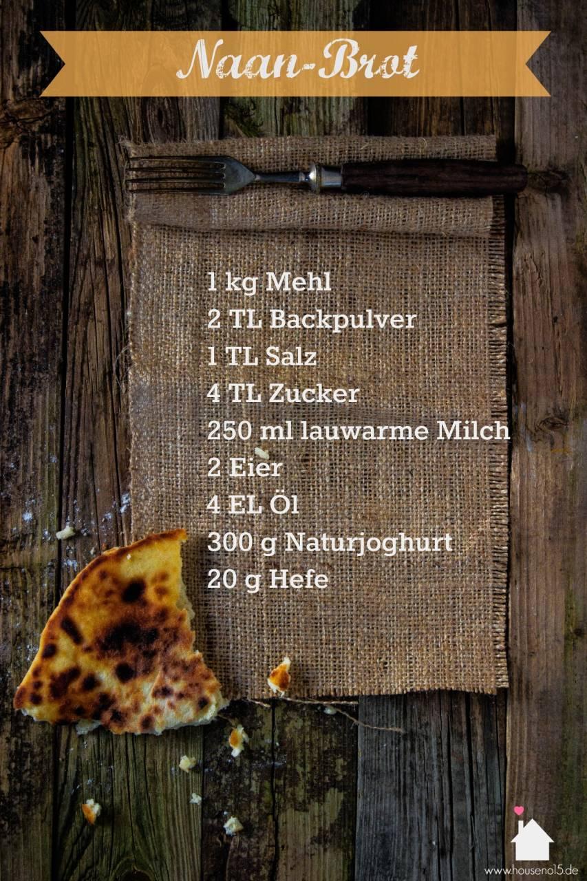 Naanbrot Rezept