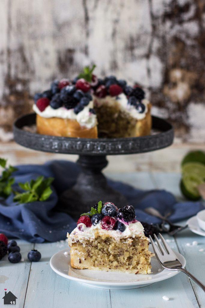 Mandel-Beerenkuchen 2