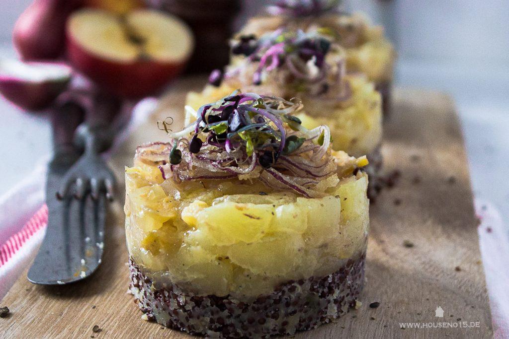 Handkäse Handkäsetörtchen Rezepte mit Handkäse hessische Rezepte regionale Speisen