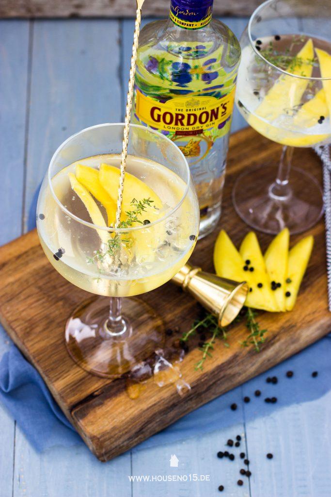 Gin Tonic mit Mango