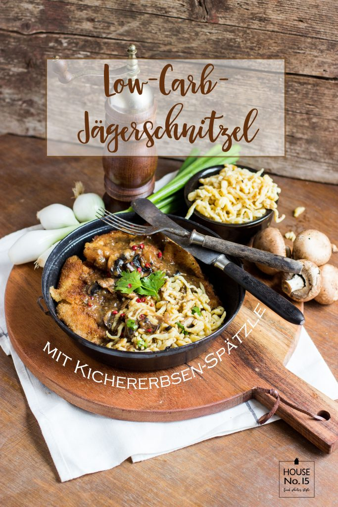 Low-Carb-Jägerschnitzel
