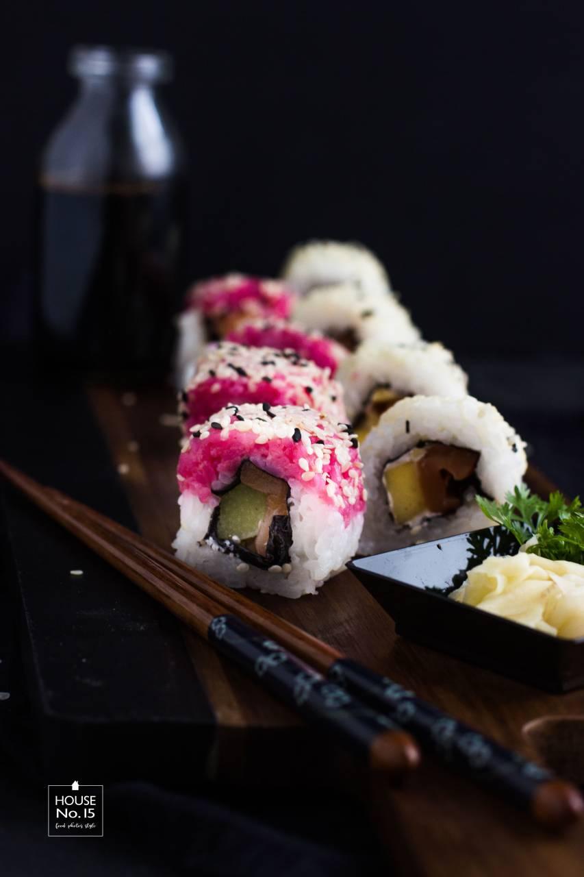 Rhabarber-Sushi