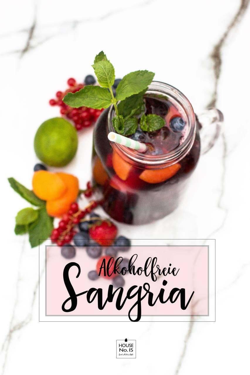 Alkoholfreie Sangria