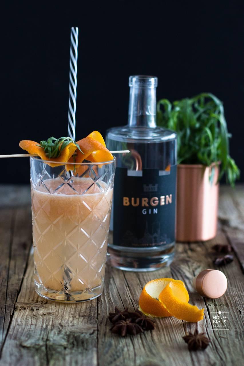 Burgen Gin mit Pomelojuice1.1
