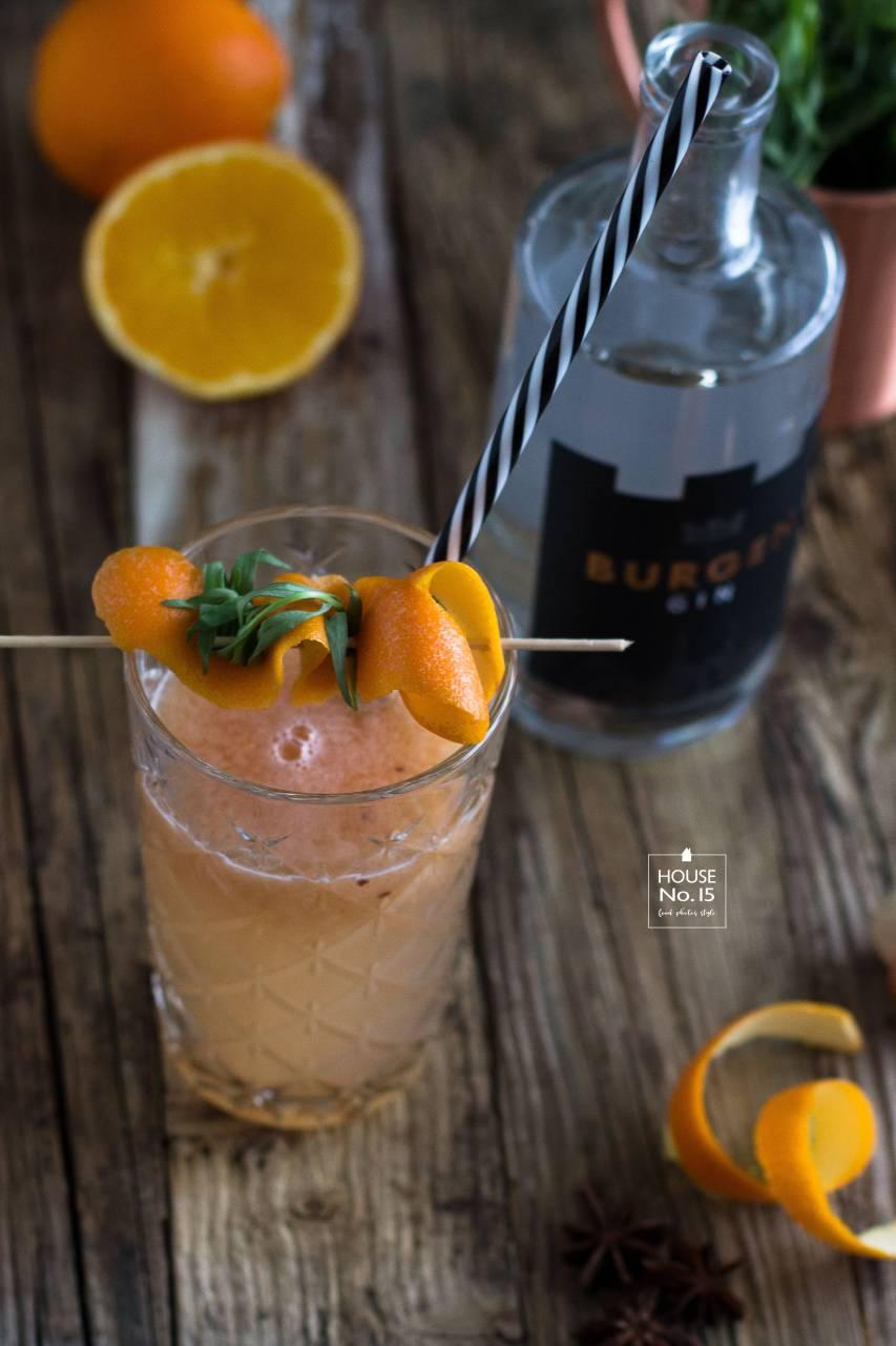 Burgen Gin mit Pomelojuice