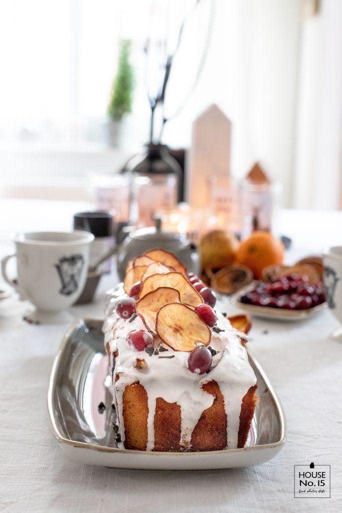 Birnen-Eierlikör-Kuchen