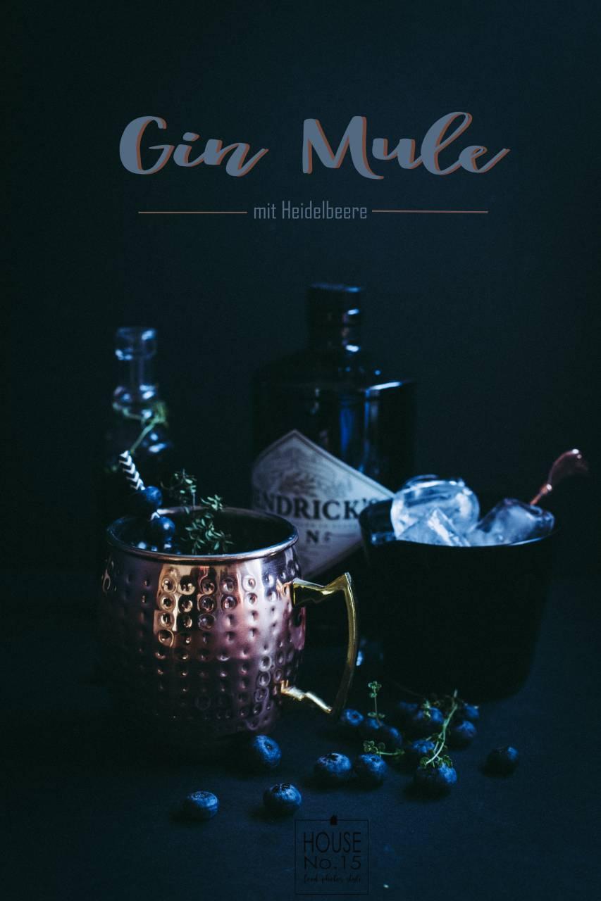 Gin Mule mit Heidelbeere_text